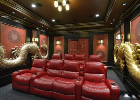 Media Room Design Photos